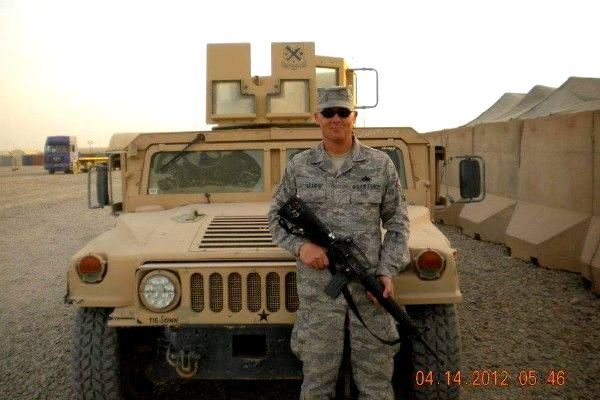 Seargent Dan during served 21 years in the military