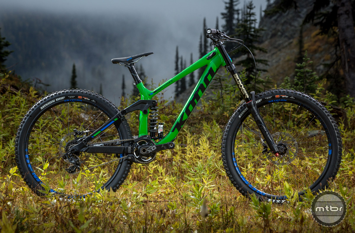 The Operator Supreme is essentially the same build used by Kona's top-tier riders.