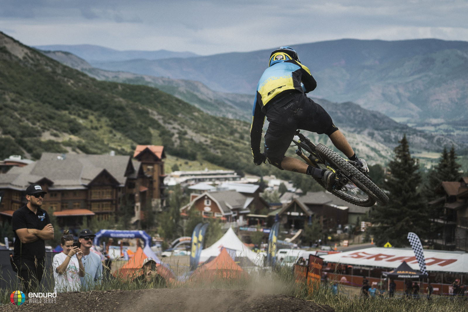 Belgium's Martin Maes whips his way to the line and 4th place this weekend.