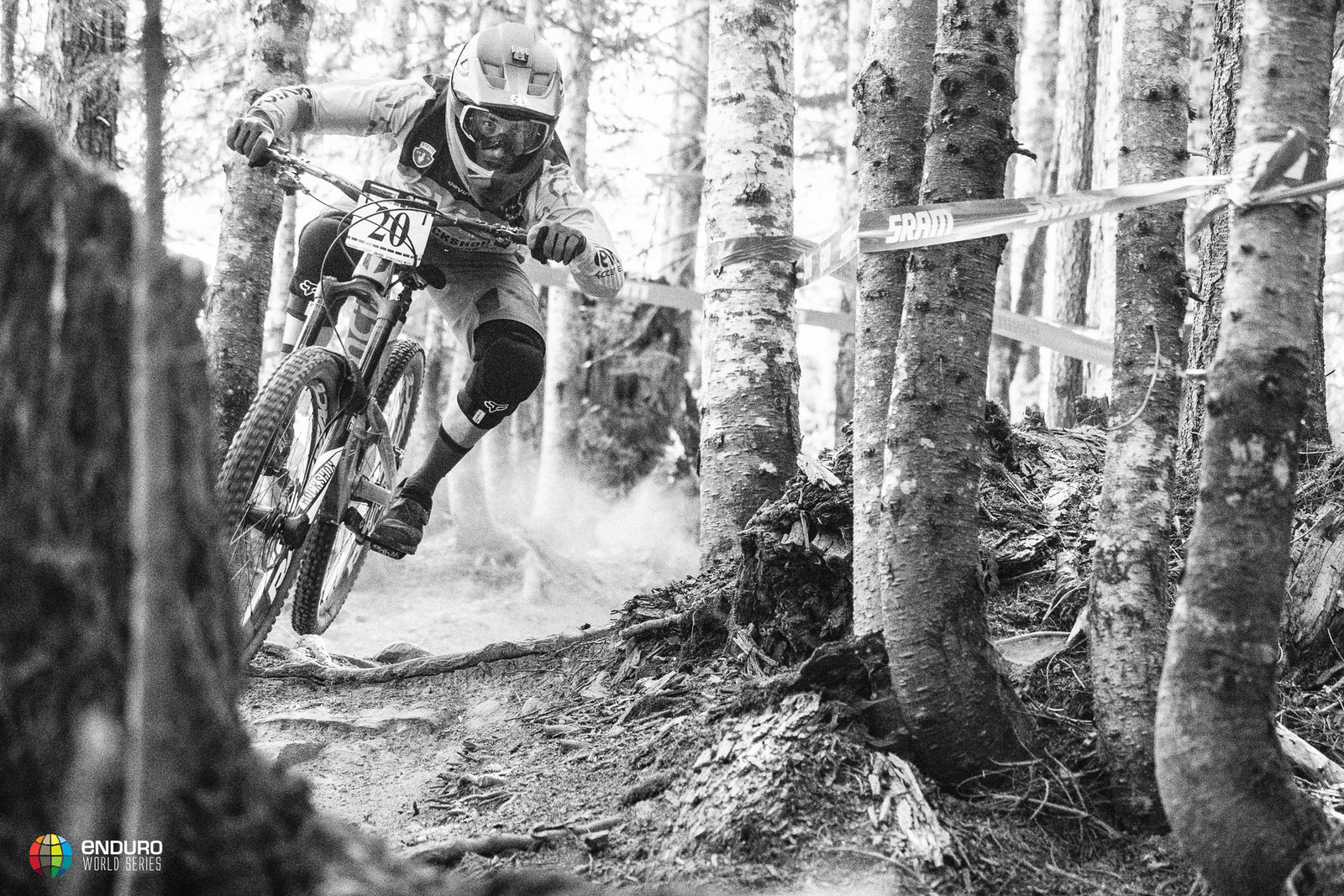 Damien Oton moved in front of Jerome Clementz in the series overall after the Whistler stop. Photo courtesy Enduro World Series
