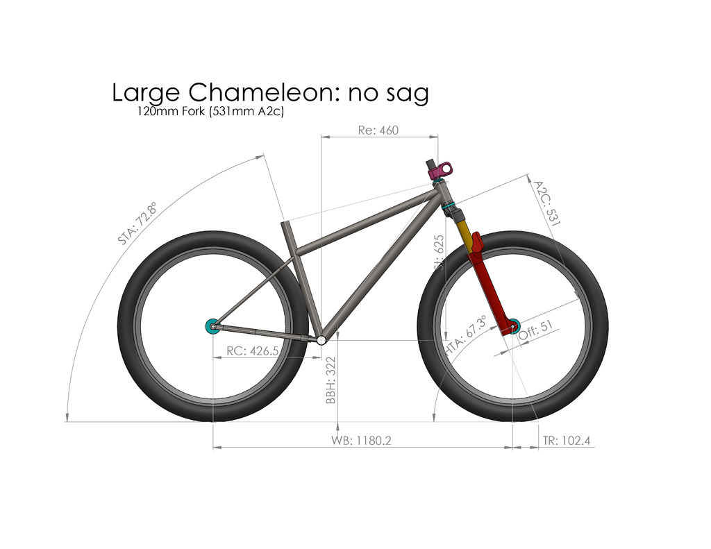 e59820eeba9 Saggy Bikes: Static vs Dynamic hardtail geo-29er-chameleon-no-sag