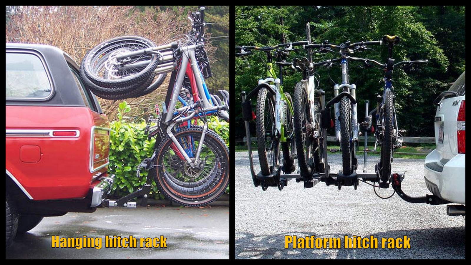 Bike Racks: Best hitch racks - Mtbr.com