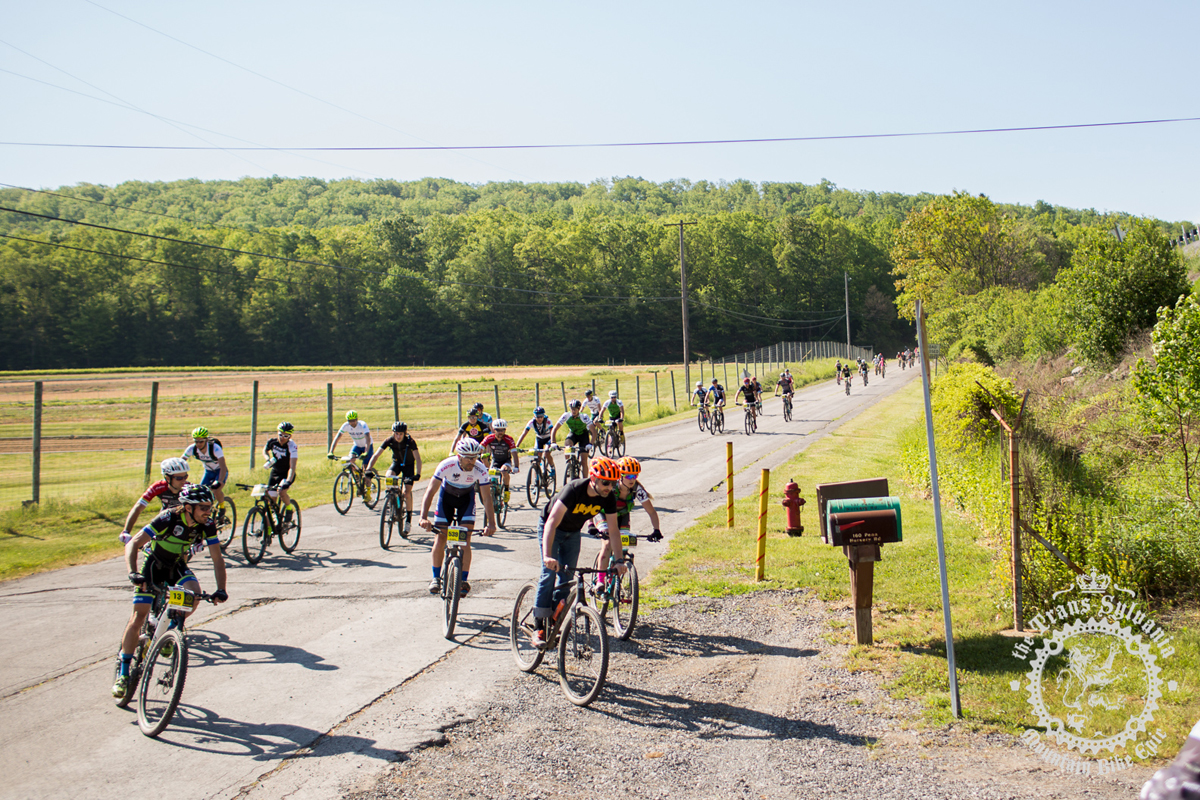 Riders cruise through the neutral start of stage 2 at the NoTubes Trans-Sylvania Epic. Photo by the Trans-Sylvania Epic Media Team