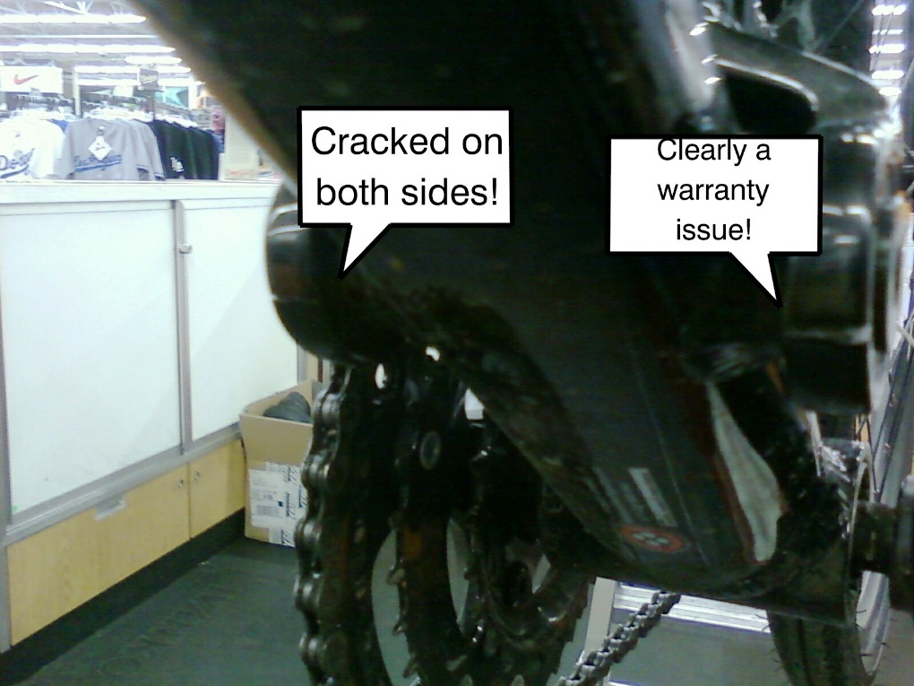 08 DB Recoil with cracked swingarm-320149290629.jpeg