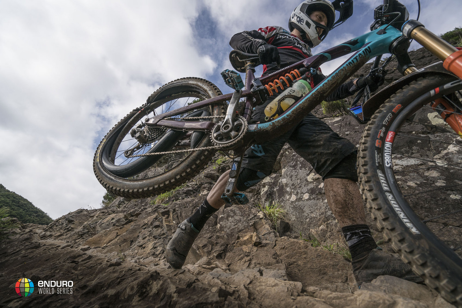 Melamed's lead vanished on day 2. That's Photo courtesy Enduro World Series