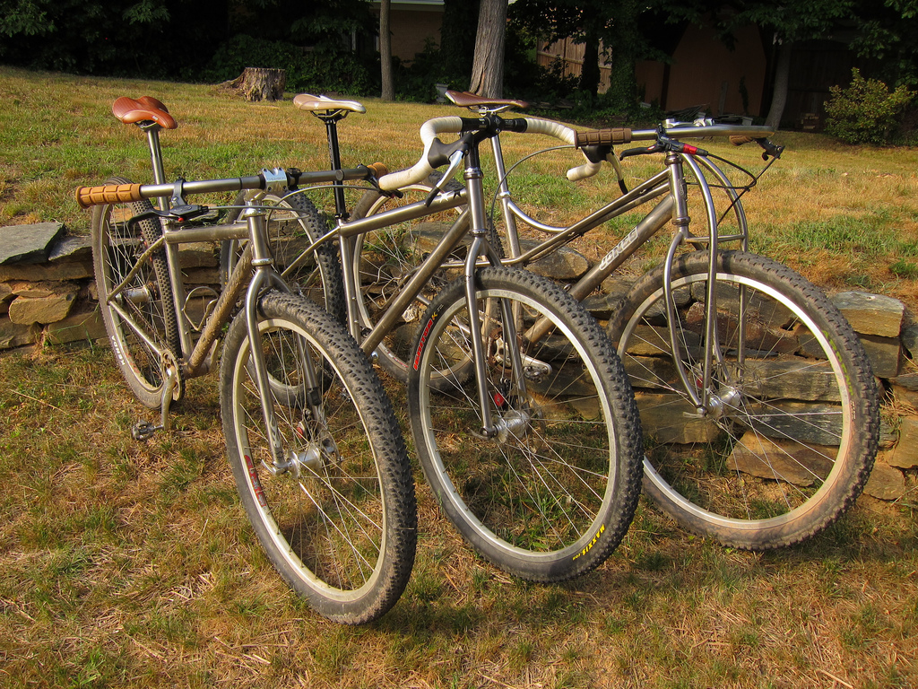 Drevil's Three Ti 29ers