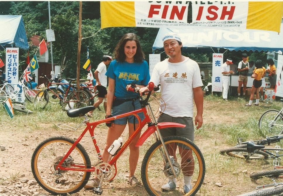 Maybe the earliest MTB with Disc brakes from 1988-3renshobike.jpg