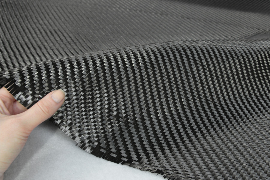 The raw form of carbon fiber are plyable sheets such as this.