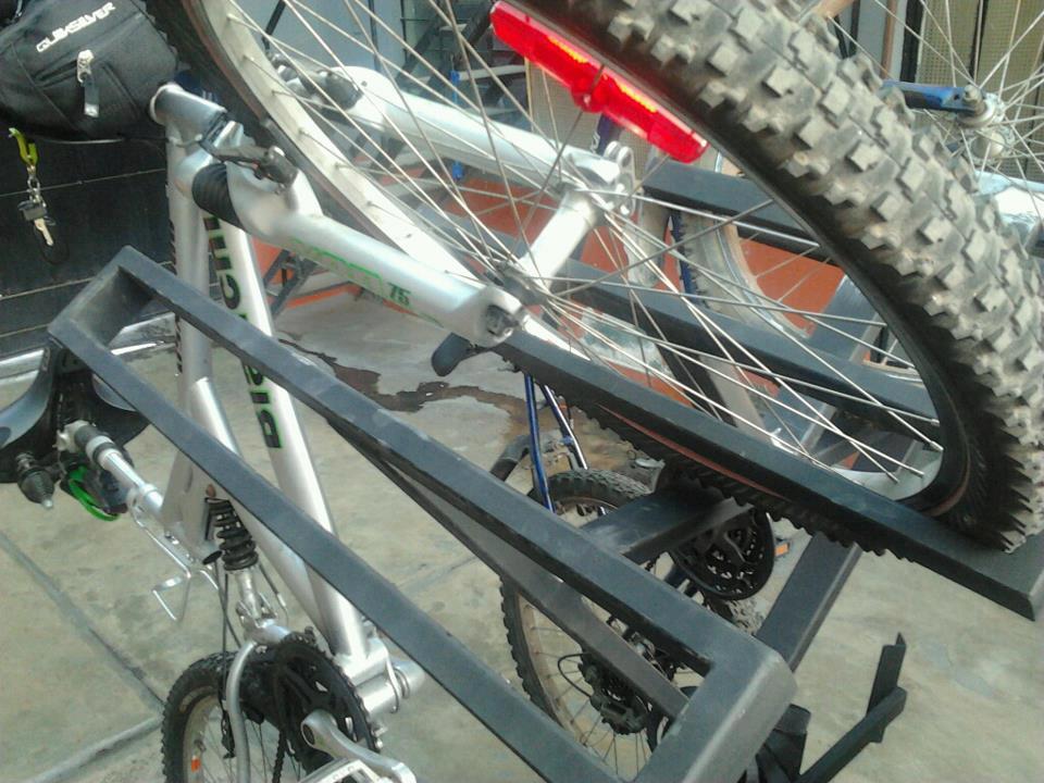 My bike rack down here in Peru....-48161_492343337497426_841287552_n.jpg