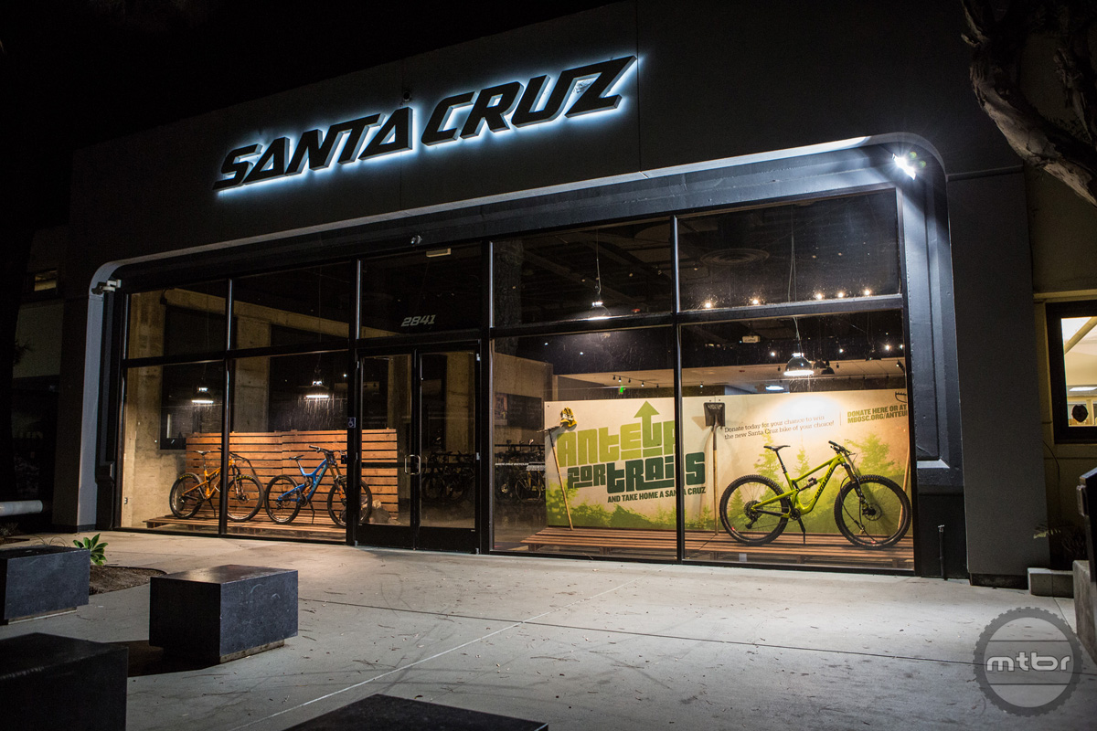 The donor for this round is Santa Cruz Bicycles with one of the hottest bikes today.