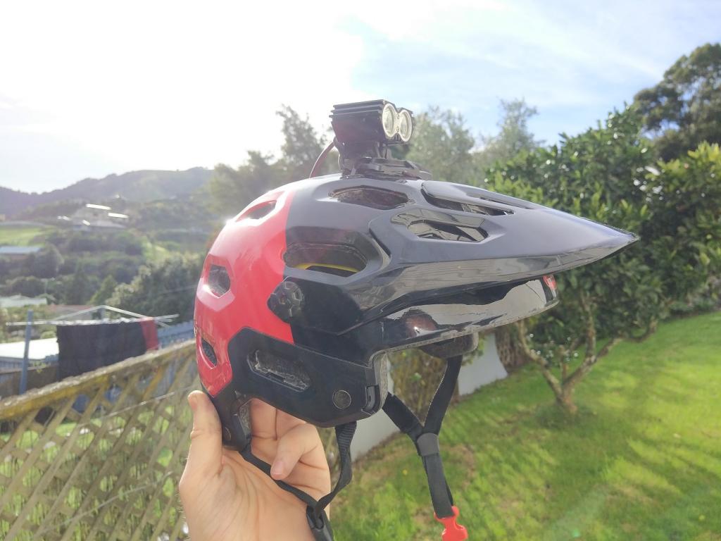 Super Easy Bell Super Lightgopro Mount Mod Mtbr
