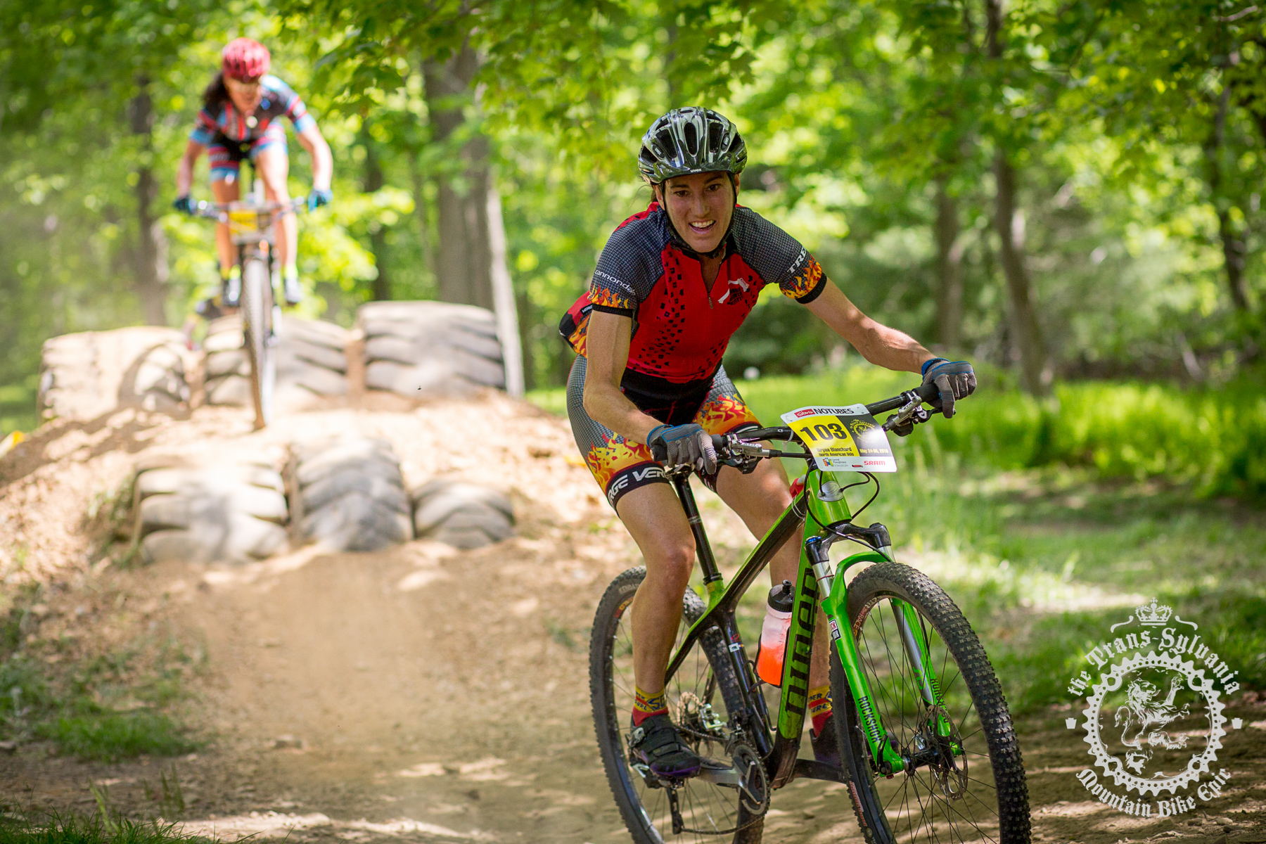 Bryna Blanchard (North American Velo) bakes her favorite bread ahead of big races like the NoTubes Trans-Sylvania Epic. Photo by Trans-Sylvania Epic Media Team