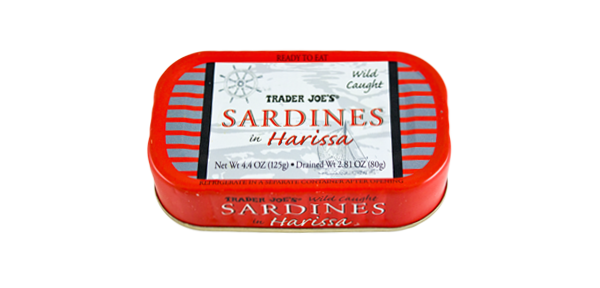 Your favorite items from Trader Joe's-51463-sardines-harissa-di.png