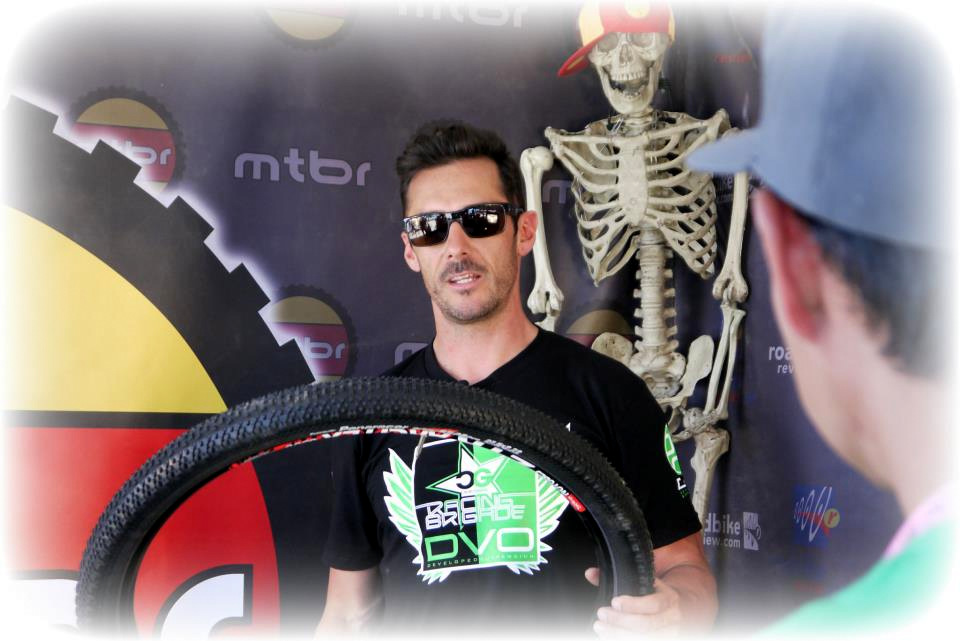 Cedric Gracia and the Panaracer Driver Pro