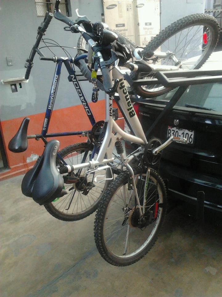 My bike rack down here in Peru....-547577_492343297497430_1138960312_n.jpg