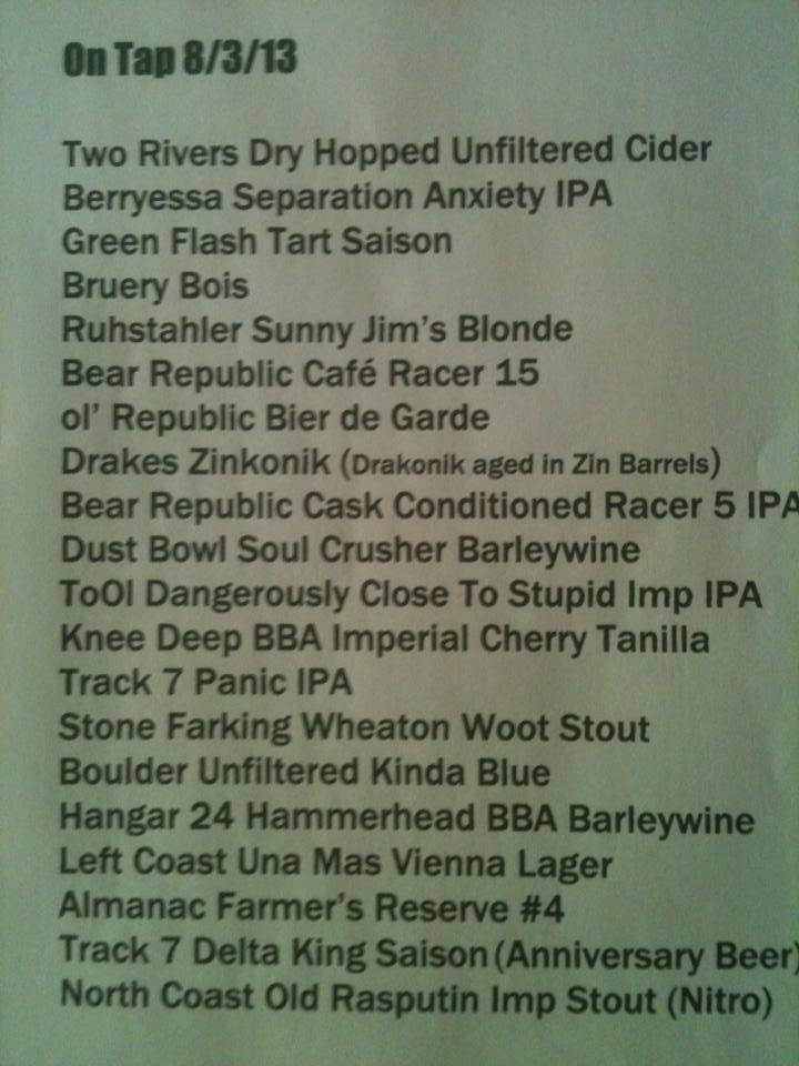 Brew selection....at some of your.....-561828_499638316785022_267435776_n.jpg