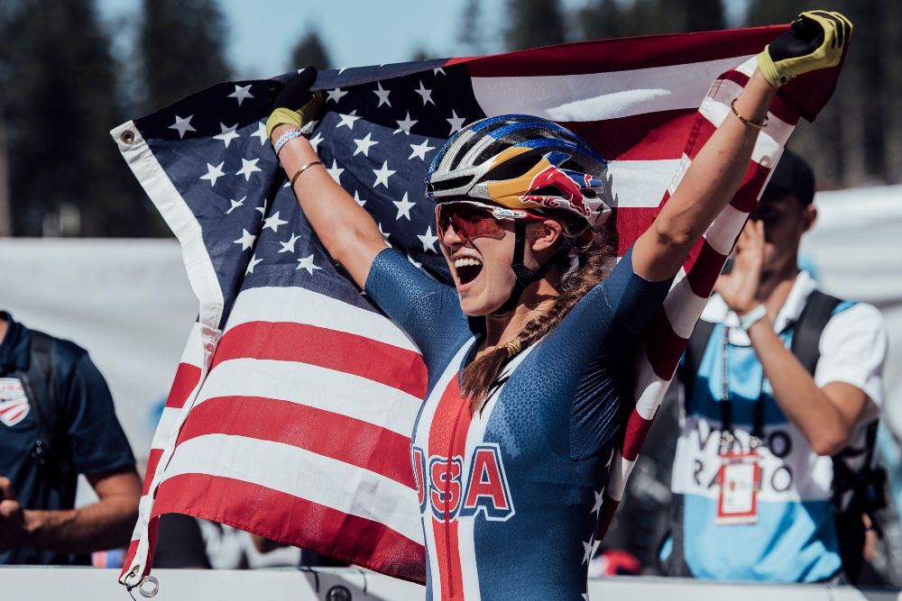 Kate Courtney joins SCOTT-SRAM MTB Racing