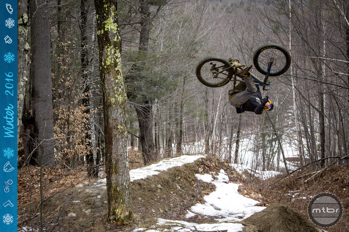 You can also fly on a fat bike. (Just dont try this move without proper training — and insurance.)