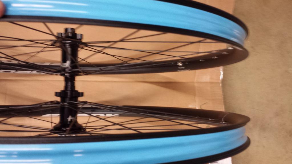 "29"" Wheelset Hope Pro 4 Spank Oozy 345 Sapim Spoke & Nipples 15x100 12x142 XD-7.jpg"
