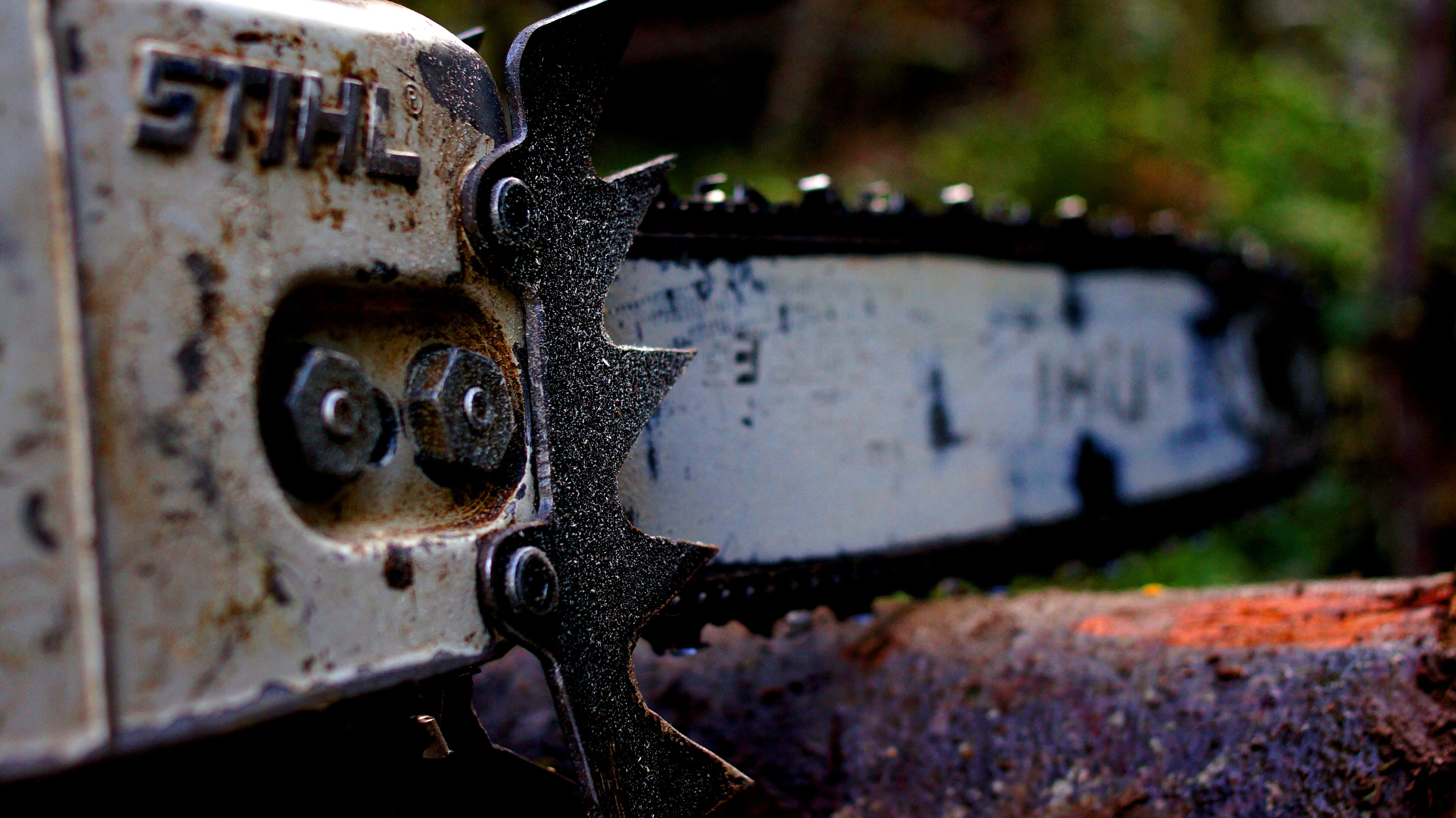 Tuned Chainsaw
