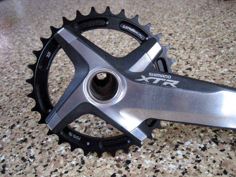 Making The Xtr M970 Cranks Look Better For A 1 X Set Up Cnc