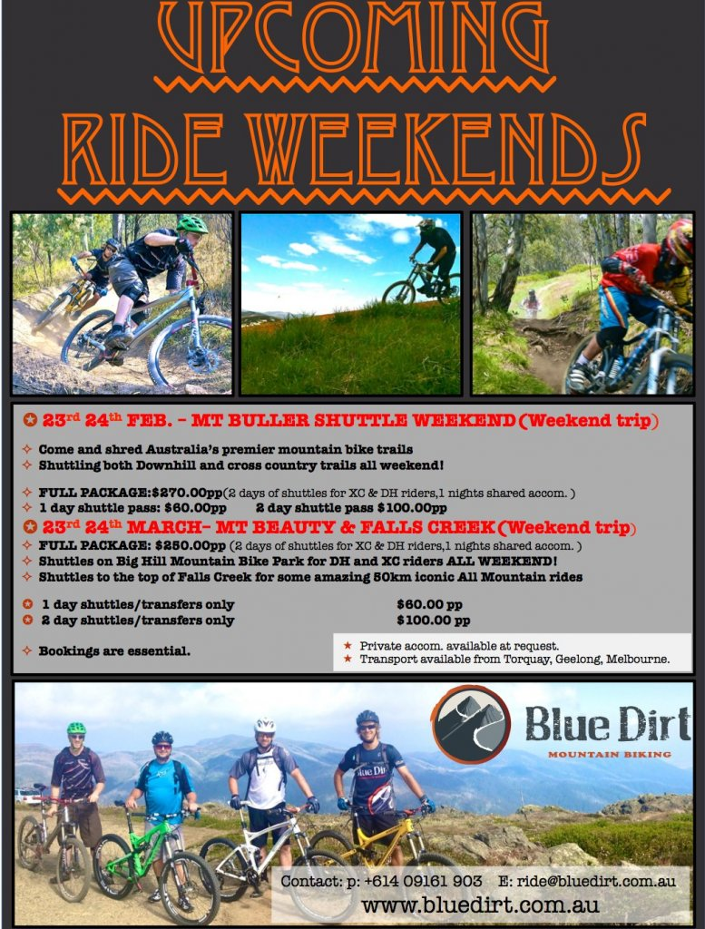 Upcoming Shuttle Weekends - Mt Buller - Mt Beauty - Falls Creek (DH/XC/AM)-792166_464058660309989_230251424_o.jpg