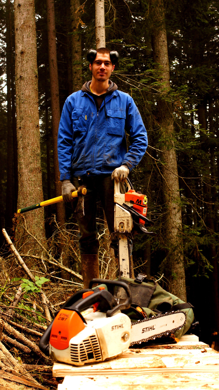 Etienne Gurnel, our logger