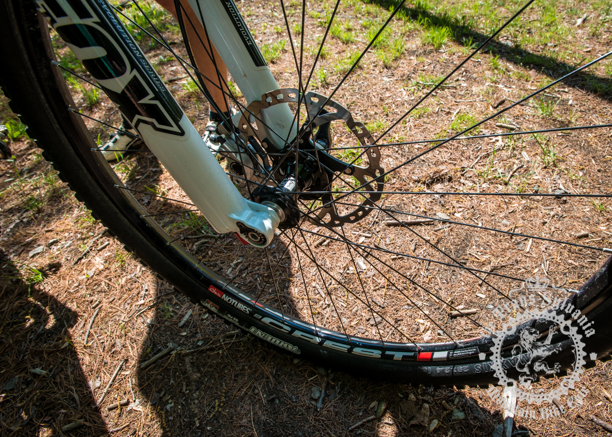 Stan's NoTubes Crest rims and 3.30 hubs are a great, light and strong option. Photo by  the Trans-Sylvania Epic Media Team
