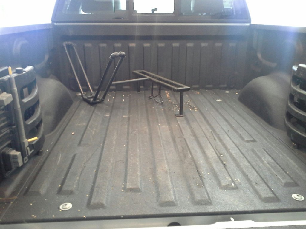 Truck Bed Rack No Wheel Removal Pipeline Best Option