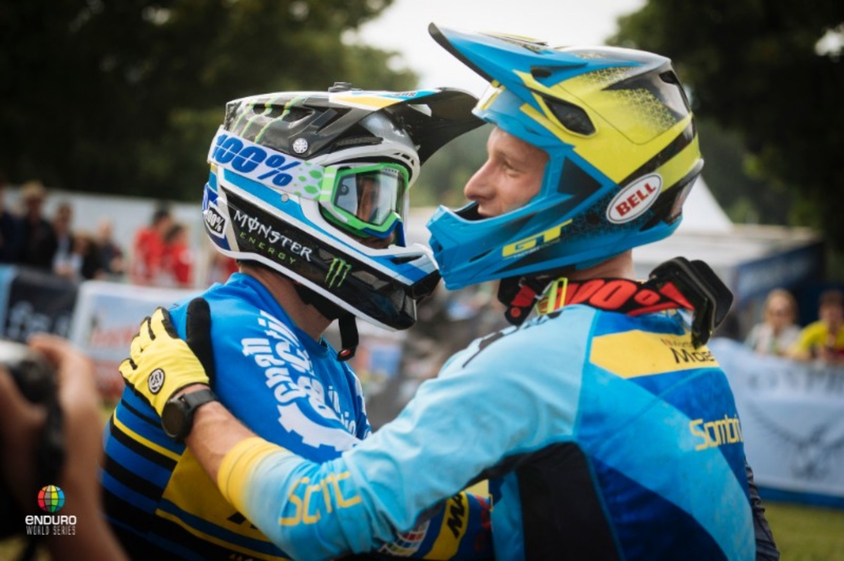 Sam Hill and Cecile Ravanel win EWS round four