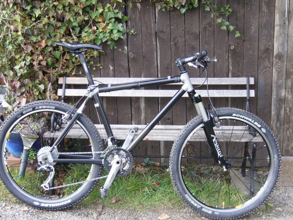 Putting A New Shock On An Old Mountain Bike Mtbr Com