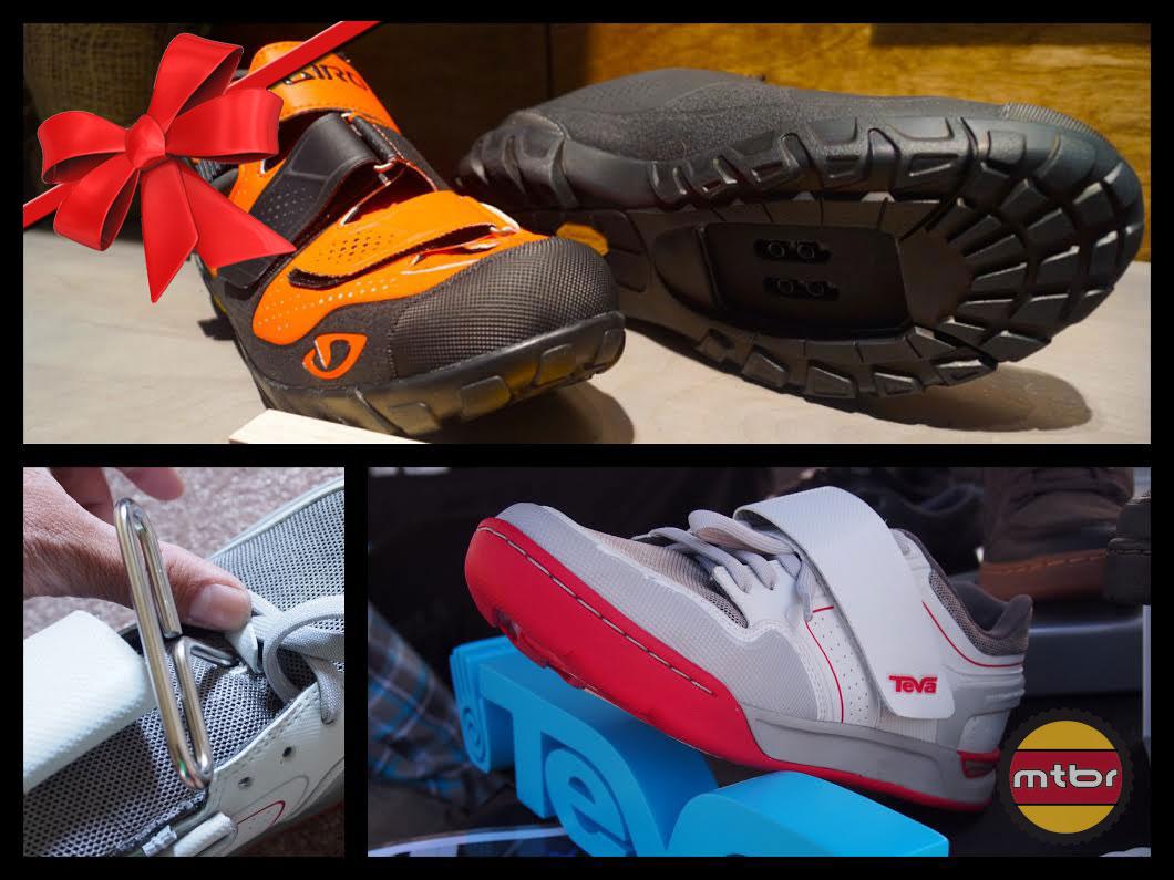 Giro and Teva Shoes