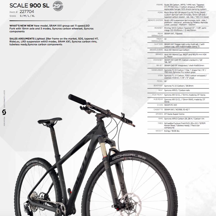 scott scale 920