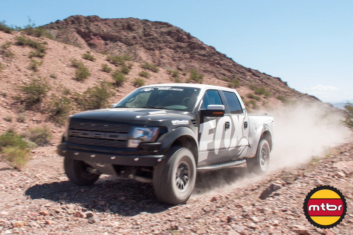 Rallying The Fox-Equipped Ford Raptor At Outdoor Demo
