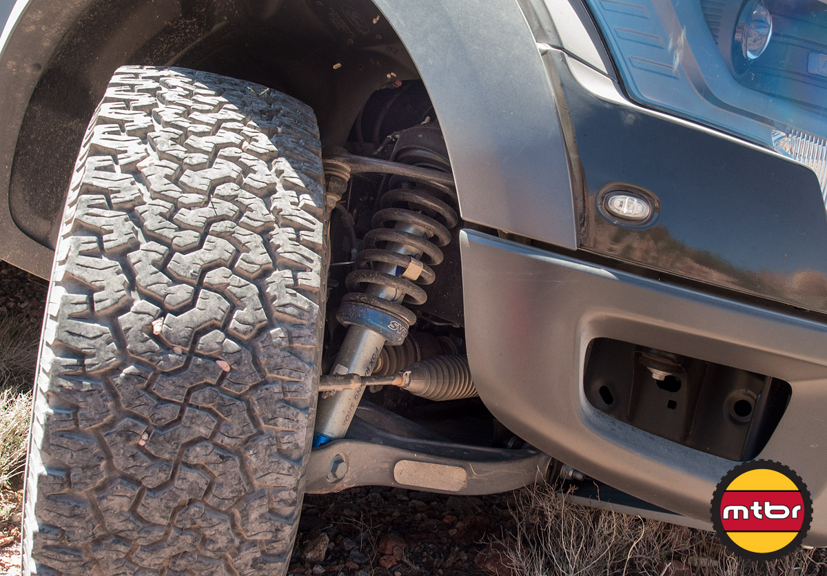 Ford Raptor Comes Equipped With Fox Suspension