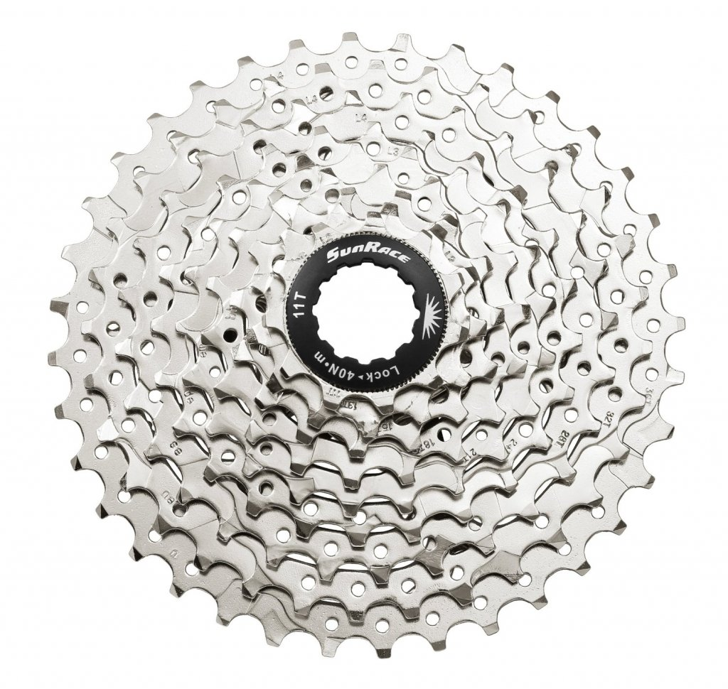 Cassettes, Freewheels & Cogs Sporting Goods Sunrace Cs-ms 10-speed---11-36t Mtb--road Silver Bicycle Cassette