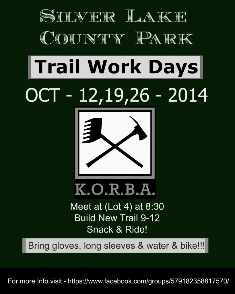 New Trails at Silver Lake County Park - Kenosha County WI-929498d1412699977-help-build-trails-se-wisconsin-korba-work-days-flyer.jpg