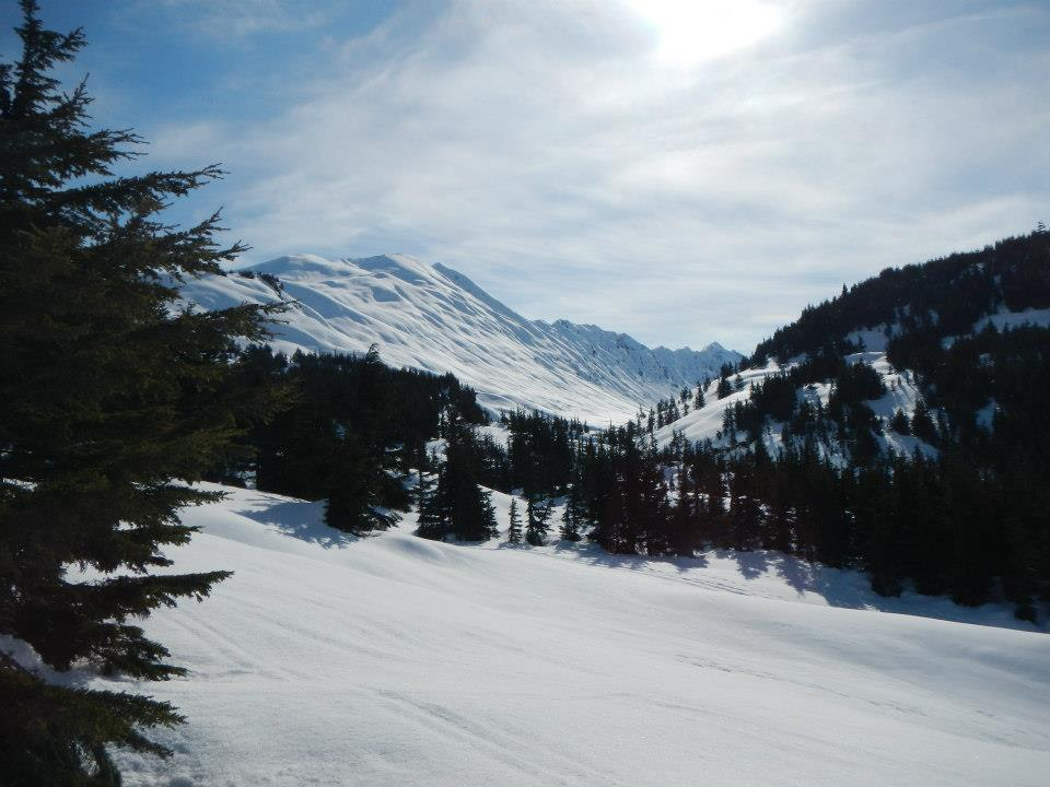 Epic crust riding conditions at Turnagain Pass this morning!-942368_10201043704364326_787205551_n.jpg