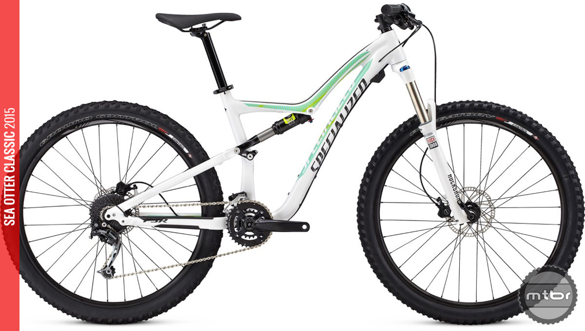 The new Rumor FSR Expert 650B ($4,800) will be available June; the Comp ($2,700) and base model ($2,200) are available now.