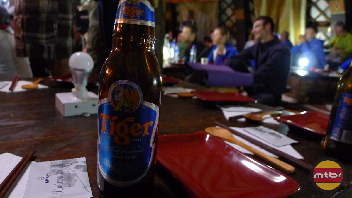 Tiger Beer at the Prize Ceremony