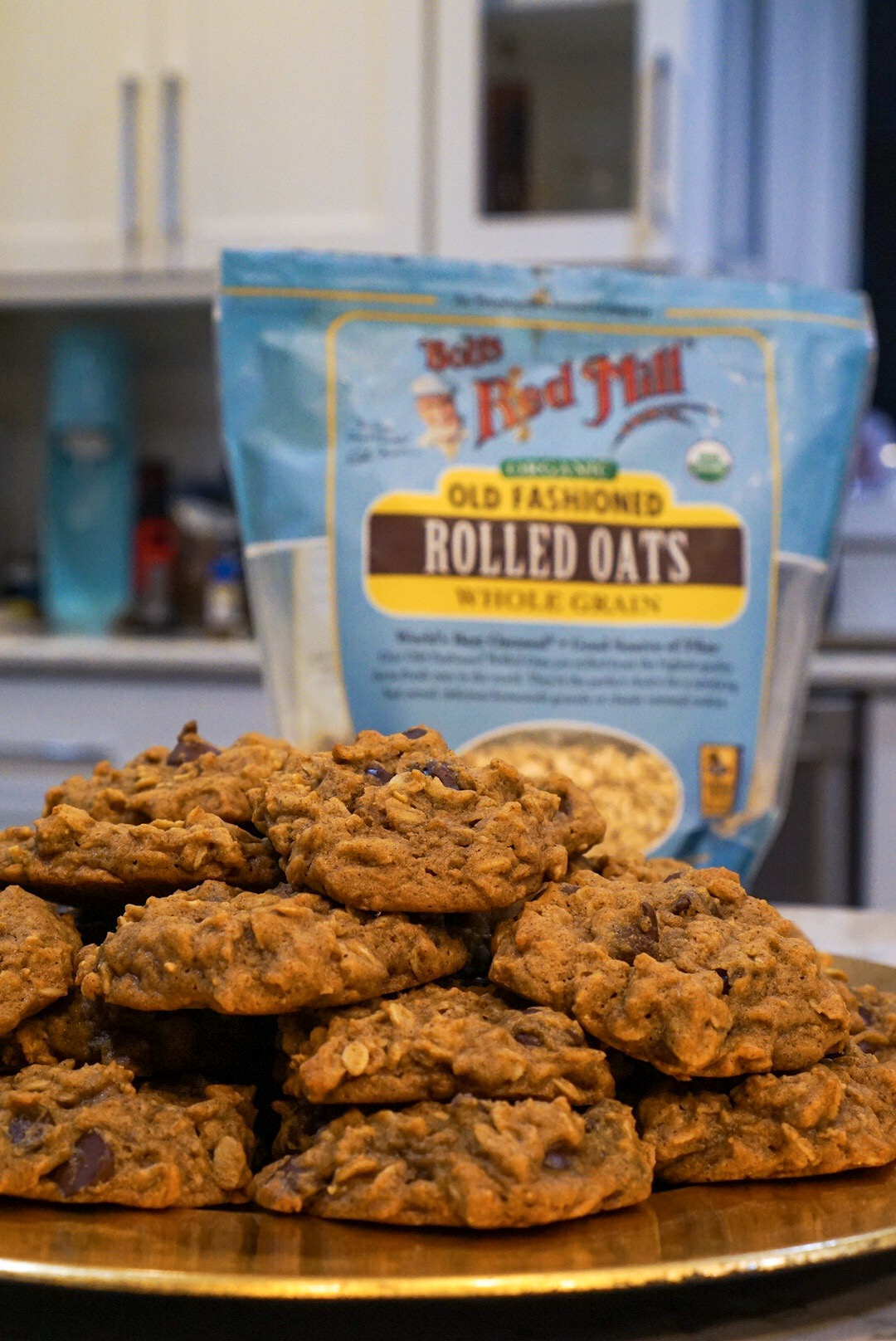 Bobs Red Mill Rolled Oats make excellent cookies