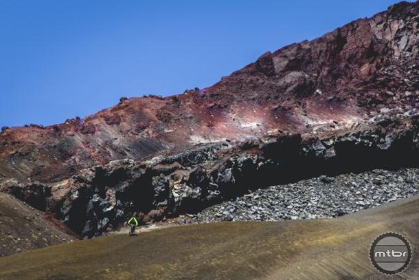 Jérôme Clementz Rides Volcano in Chile