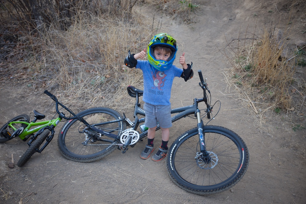 """d62b36fccbc Review of the Spawn Cycles Banshee (16"""" wheeled bike)-_dsf2835.jpg"""