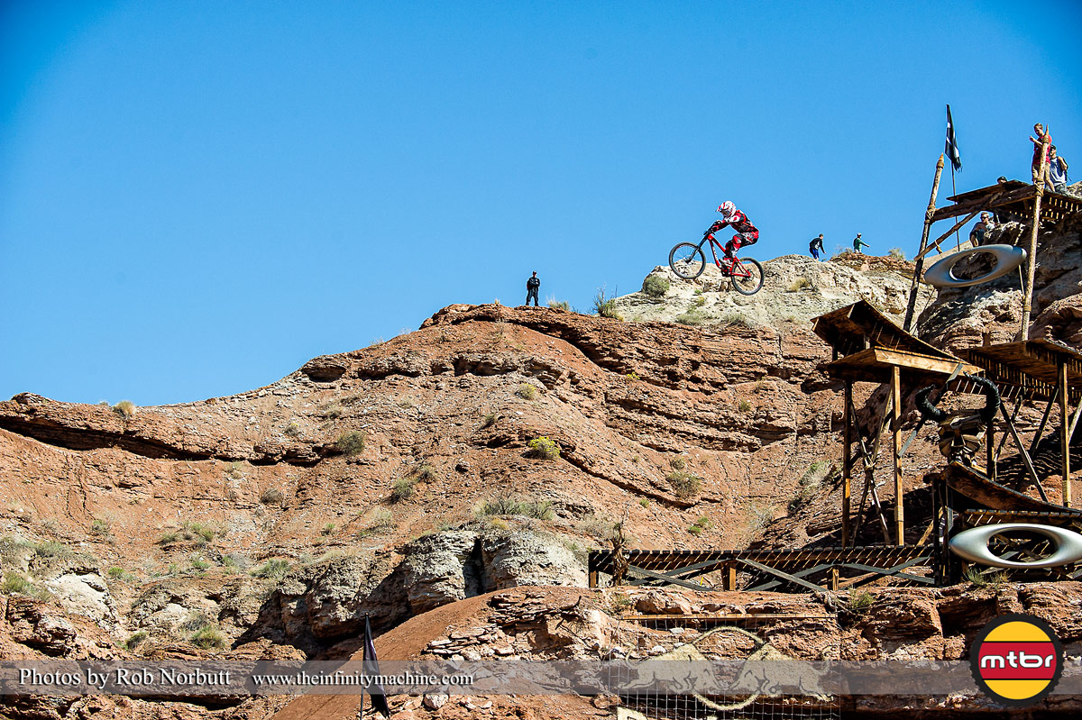 Logan Bingelli - Red Bull Rampage 2013 Practice - Photo by Rob Norbutt