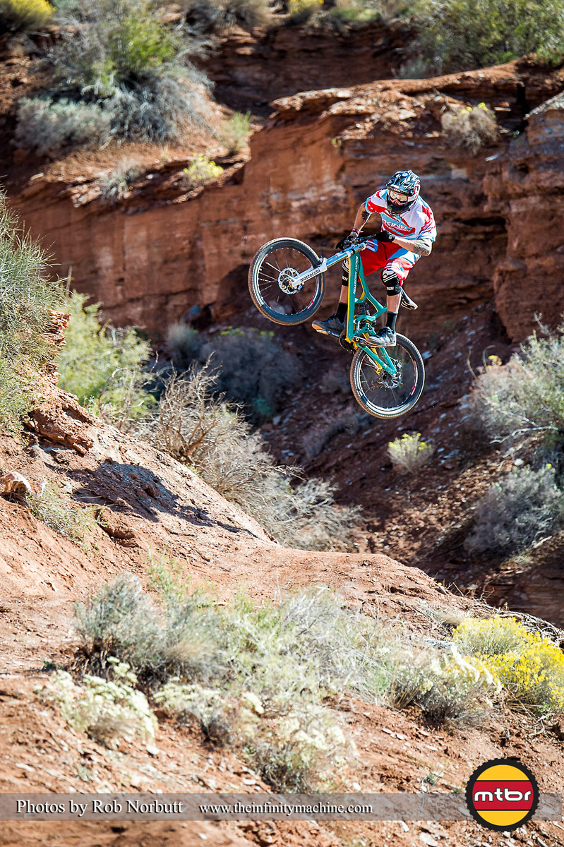 Geoff Gulevich - Red Bull Rampage 2013 Practice - Photo by Rob Norbutt