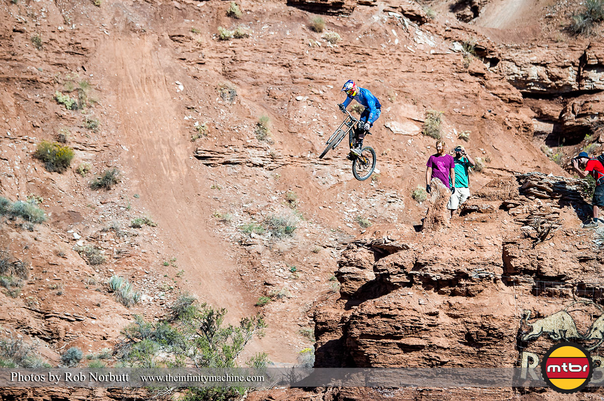 Thomas Genon - Red Bull Rampage 2013 Practice - Photo by Rob Norbutt