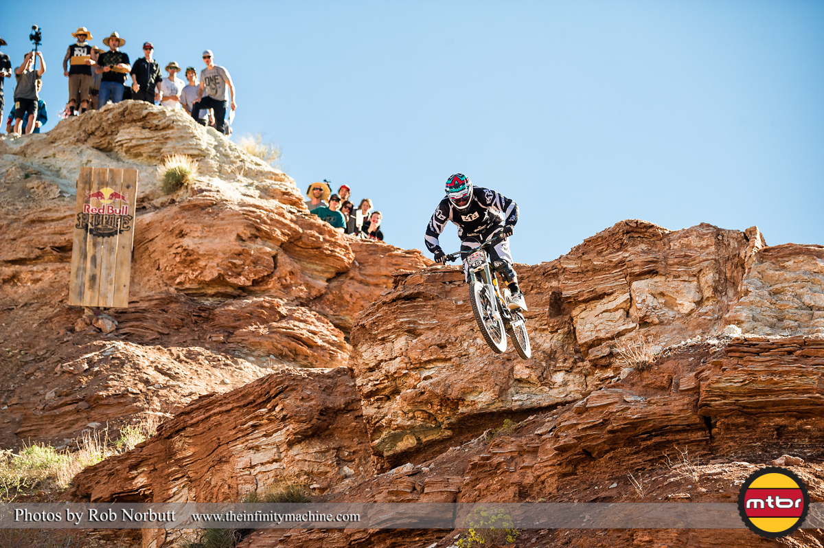 Chris Van Dine - Redbull Rampage Qualifying 2013