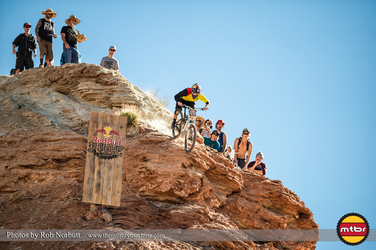 Mike Hopkins - Redbull Rampage Qualifying 2013