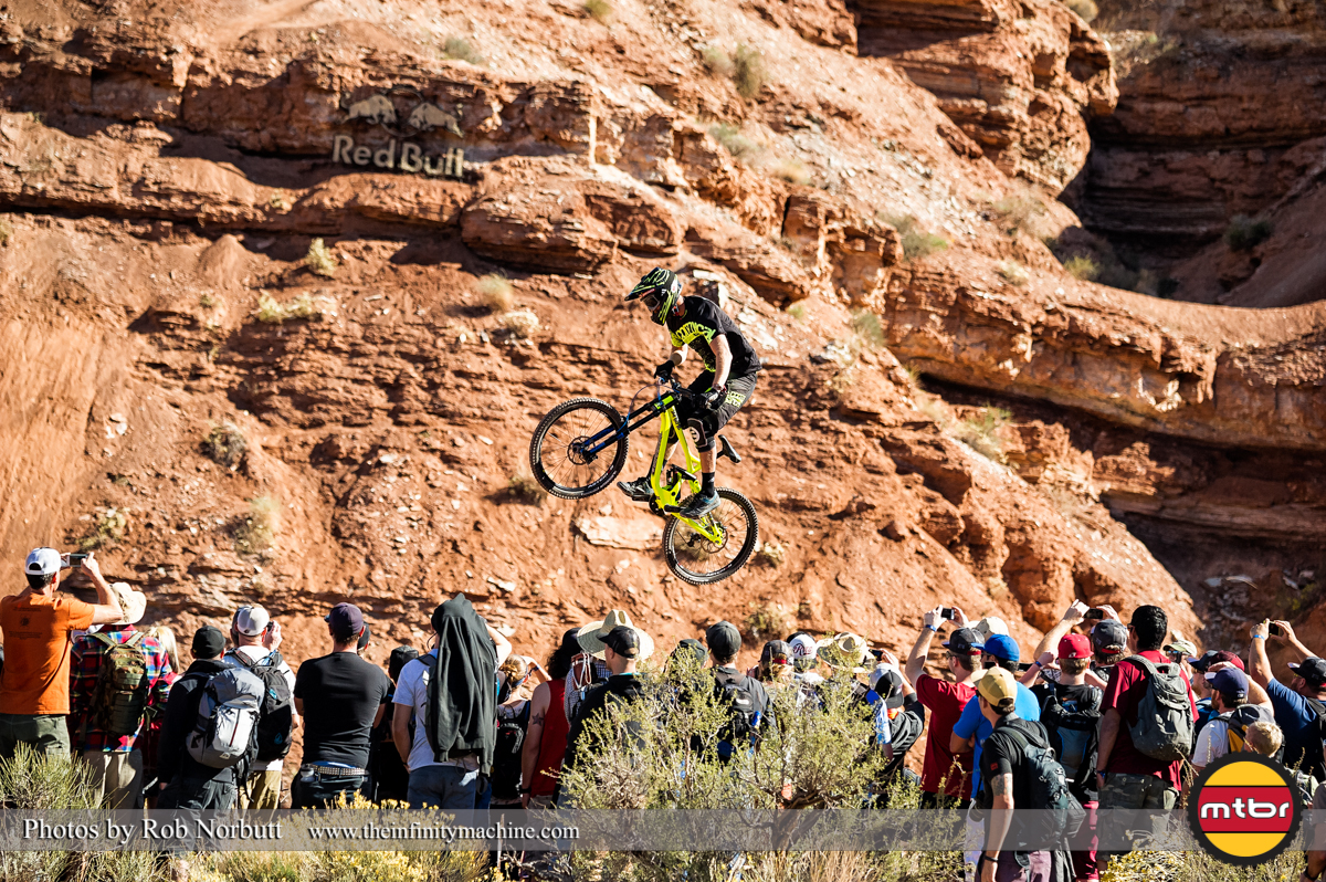 Second Qualifier Pierre Eduard Ferry - Redbull Rampage Qualifying 2013