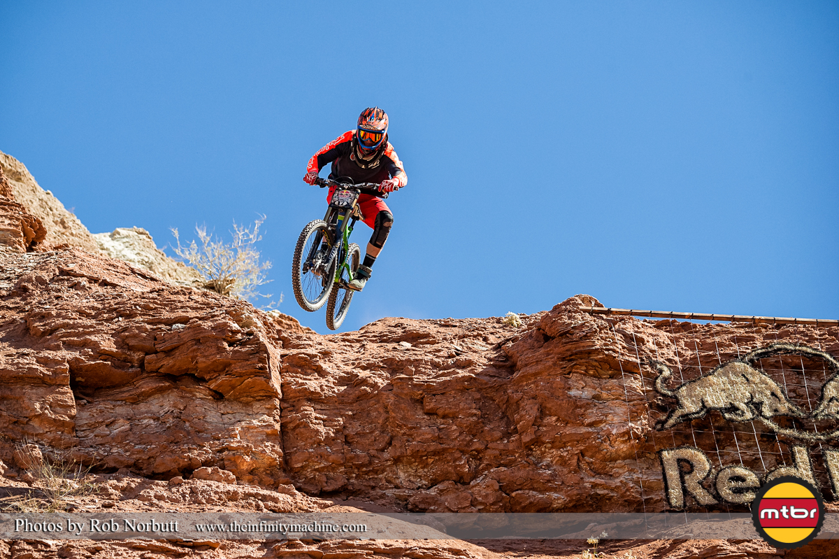 Tom Van Steenbergen - Redbull Rampage Qualifying 2013
